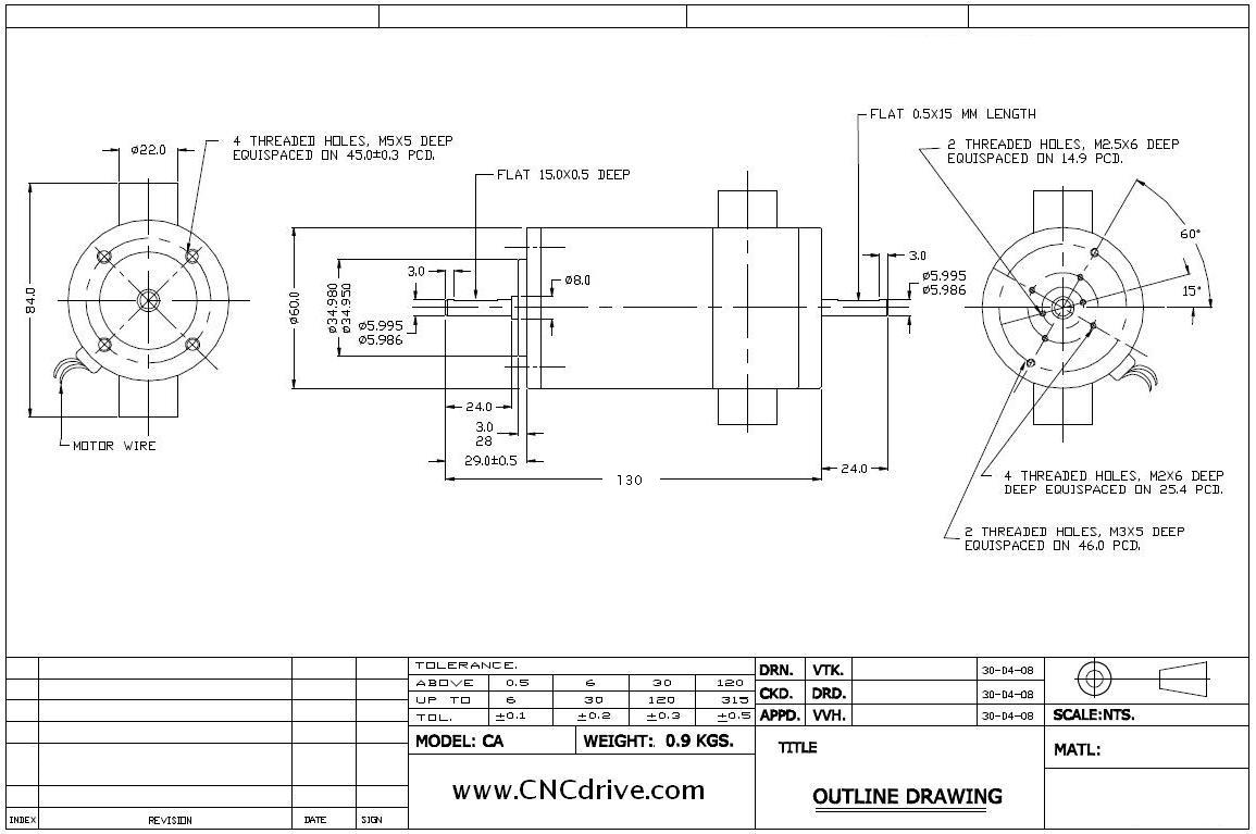 Cncdrive motion controls uc100 usb motion controller users manual bl60 156w ac servomotor outline drawings bl60 400w ac servomotor outline drawings sciox Images
